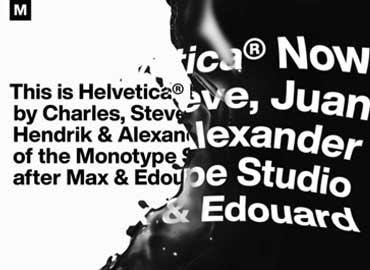 Helvetica Now Font