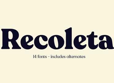 Recoleta Font