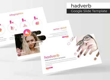 Hadverb - Google Slides Template
