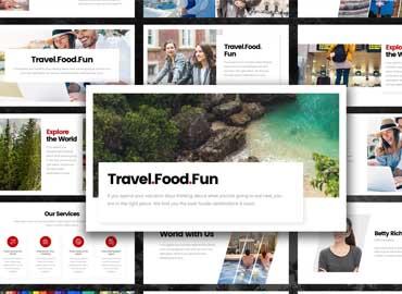 Fun Travel Tour PowerPoint Template