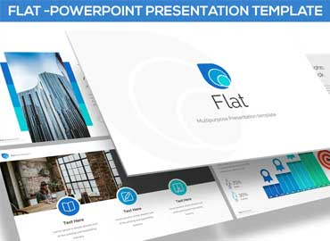 FLAT - POWERPOINT TEMPLATE