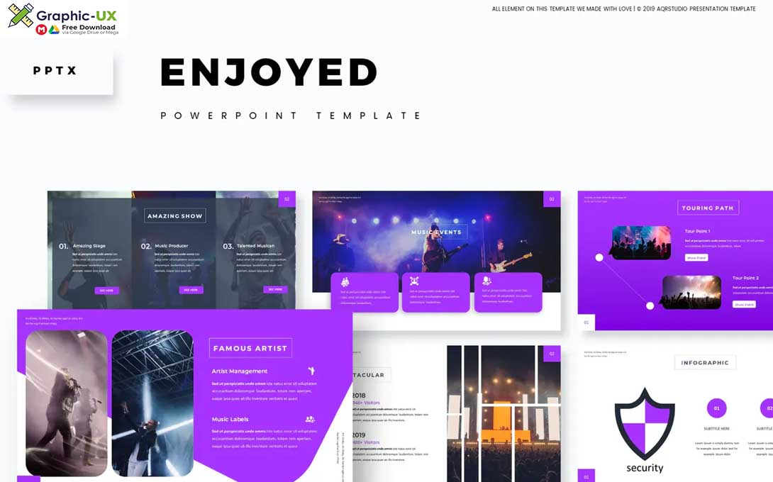 Enjoyed - Powerpoint Template