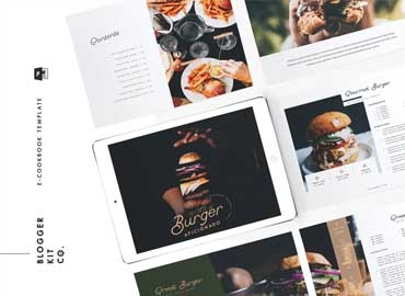 eBook Template | Cookbook | 16 Pages| PowerPoint