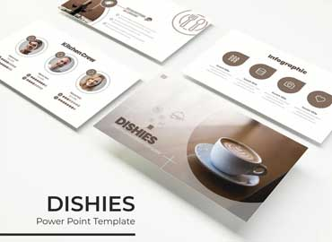 Dishies - PowerPoint Template