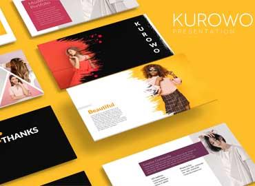 KUROWO Powerpoint Template