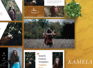KAMELA - Creative Powerpoint Template