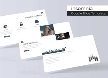 Insomnia - Google Slides Template
