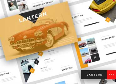 Lantern - Car Dealership PowerPoint Template