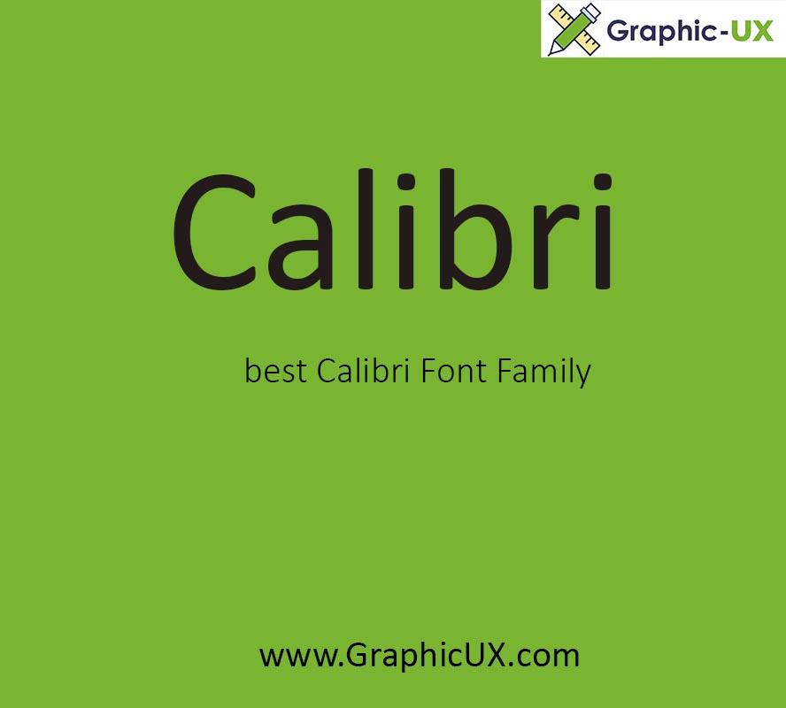 Calibri Font Free