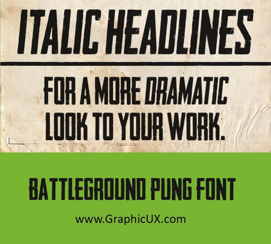 Pubg Font Free Download