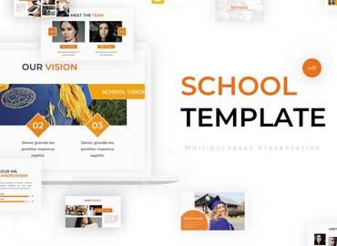 School - Google Slides Template