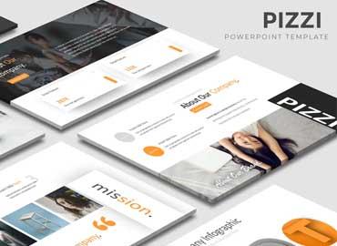 Pizzi - Powerpoint Template