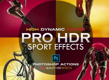PRO HDR Photoshop Actions