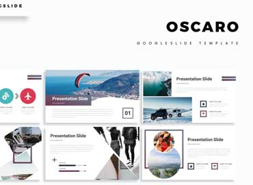 Oscaro - Google Slide Template