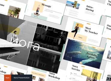 Nora 2 - Powerpoint Template