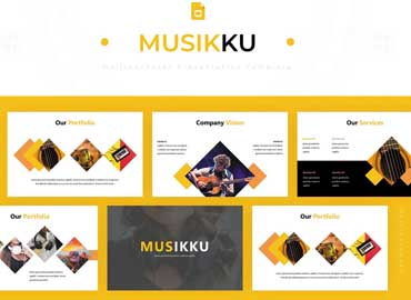 Musikku - Google Slides Template
