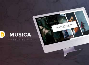 Musica - Google Slides Template