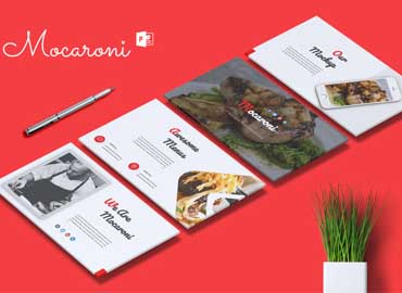MOCARONI - Restaurant & Food Powerpoint Template