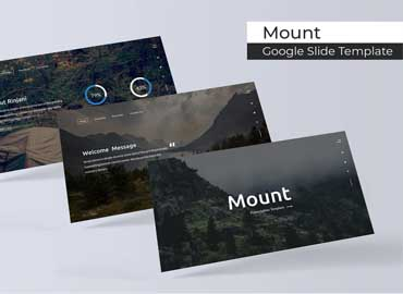 Mount - Google Slide Template