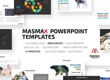 Masmax Powerpoint Template