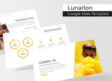 Lunarlon - Google Slides Template