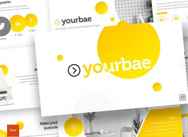 Yourbae - Powerpoint Template