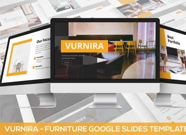 Vurnira - Furniture Google Slides Template