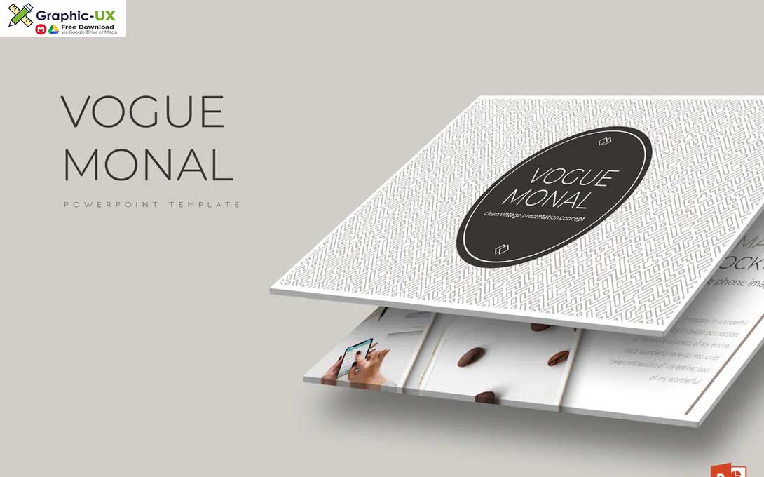 Vogue Monal - Powerpoint Template