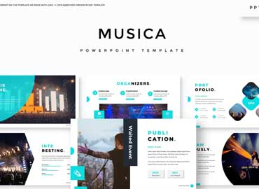 Musica - Powerpoint Template