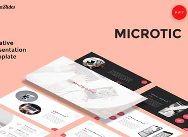 Microtic - Powerpoint Presentation Template
