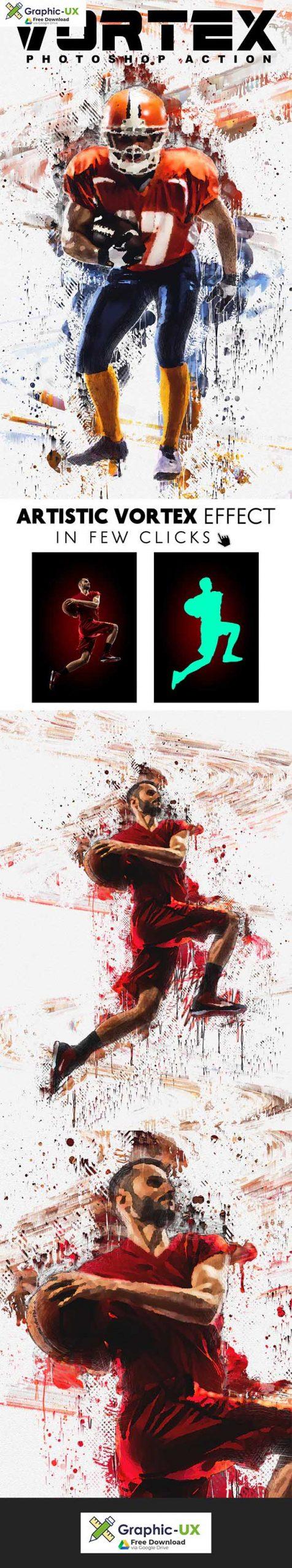 Vortex - Artistic Photoshop Action