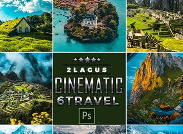Cinematic-Landscap Travel Photoshop Actions