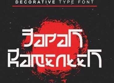 Japan Ramenten Font