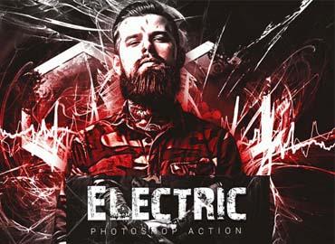 Electric Photoshop Action