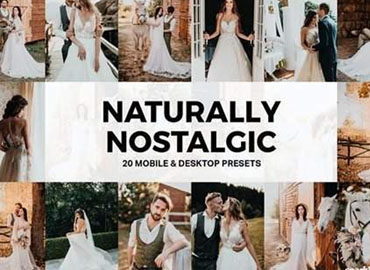 20 Naturally Nostalgic Lightroom Presets and LUTs