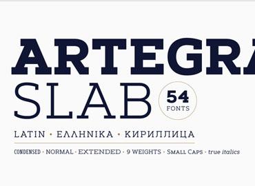 Artegra Slab Font