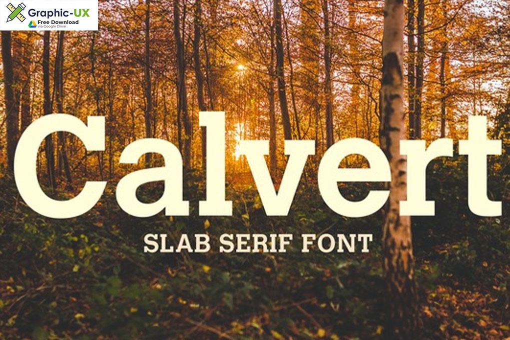 Calvert Font