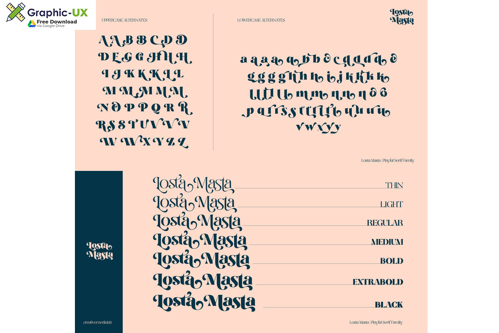 Losta Masta Font