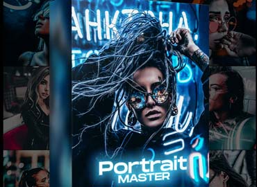 Portrait Master - Photoshop Actions