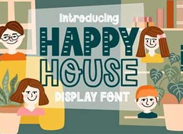 Happy House Font