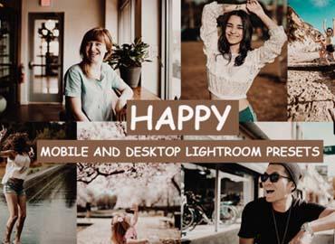 Cinematic Happy Lightroom Presets