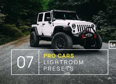 7 Pro Cars Lightroom Presets