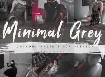 7 Minimal Grey Lightroom Presets