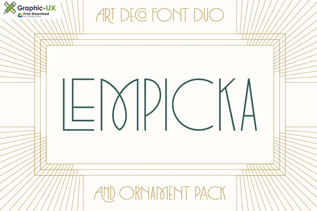 Lempicka Font Family