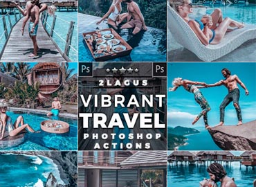 INSTA Traveling Photoshop Actions