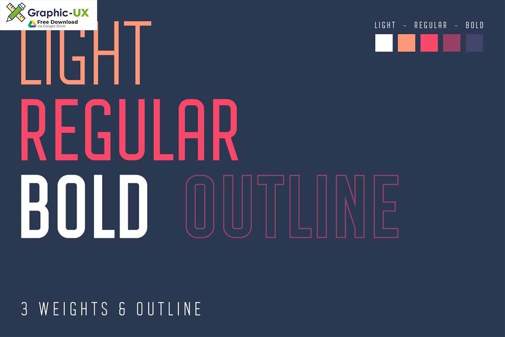 Avantgarde Sans Serif Font