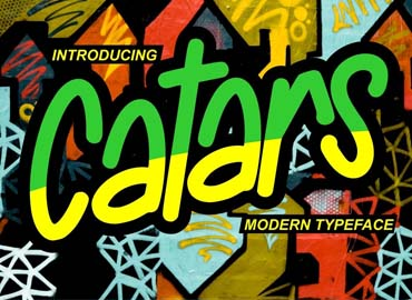 Catars Modern Typeface Font