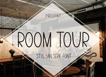 Room Tour Font