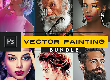 Vector Painting Photoshop Actions
