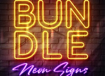 Wall Neon Signs Bundle